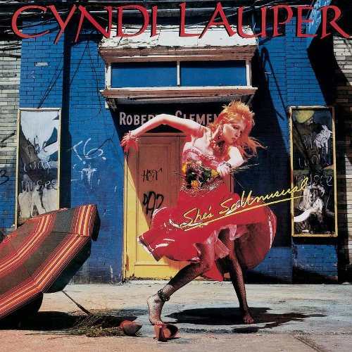 Cyndi Lauper Time After Time (arr. Deke Sharon) cover art