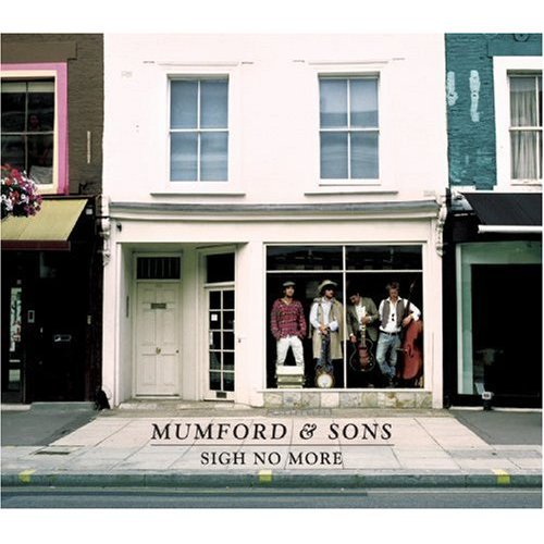 Mumford & Sons White Blank Page cover art