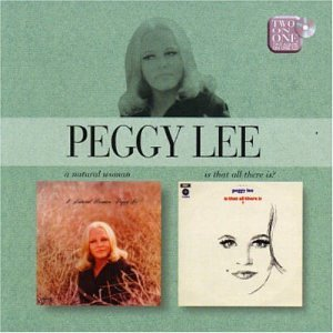 Peggy Lee I'm A Woman cover art