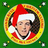 Paul McCartney Wonderful Christmastime arte de la cubierta