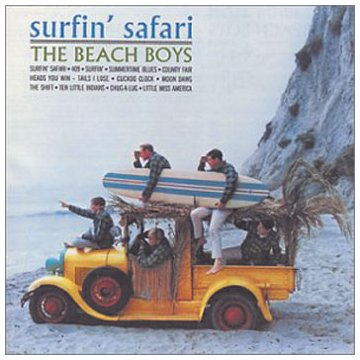 The Beach Boys Surfin' Safari cover art