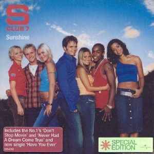 S Club 7 Don't Stop Movin' cover art