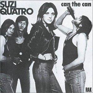Suzi Quatro Can The Can cover art
