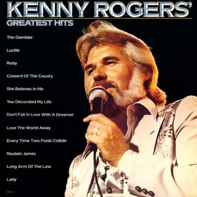 Kenny Rogers You Decorated My Life cover art