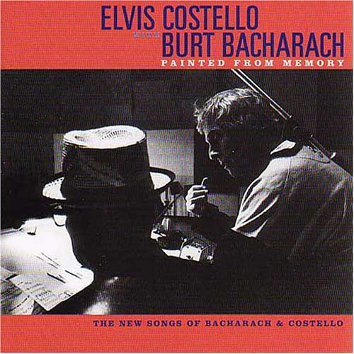 Elvis Costello and Burt Bacharach In The Darkest Place cover art
