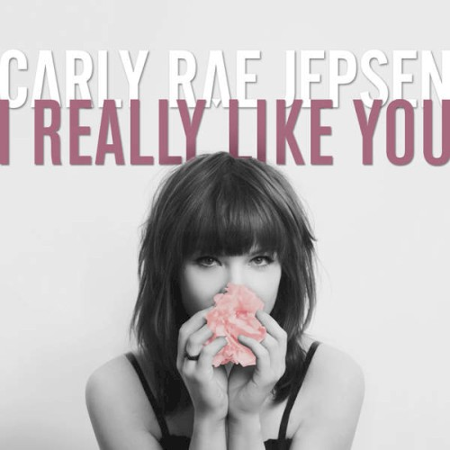 Carly Rae Jepsen I Really Like You l'art de couverture