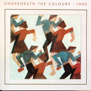 INXS Underneath The Colours cover art