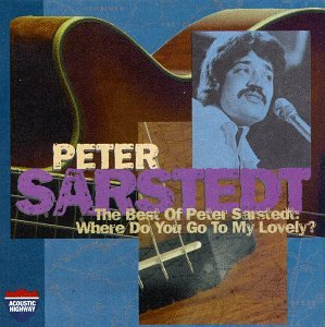 Peter Sarstedt Where Do You Go To (My Lovely) cover art