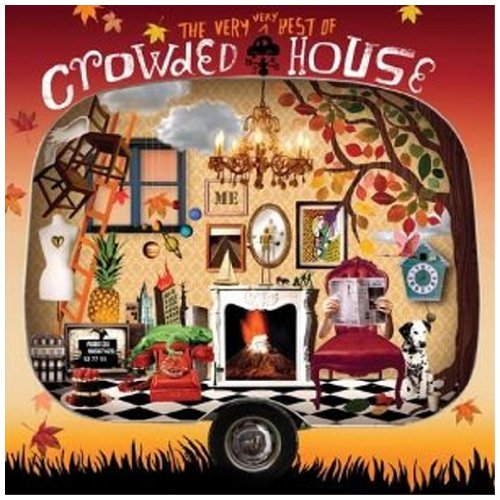 Crowded House Something So Strong cover art