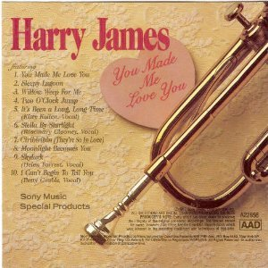Harry James Sleepy Lagoon cover art