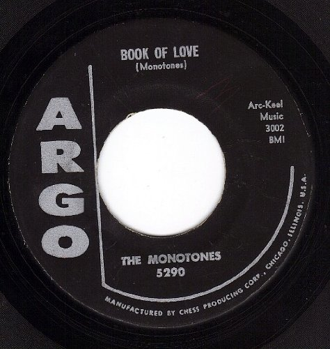The Monotones Book Of Love cover art