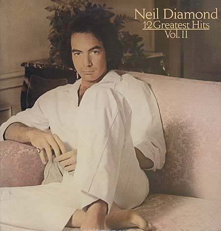 Neil Diamond Love On The Rocks cover art