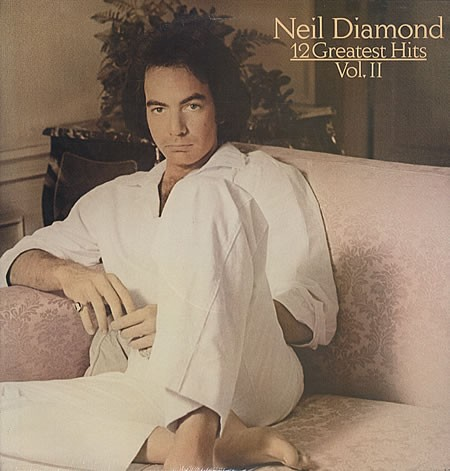 Neil Diamond Hello Again l'art de couverture