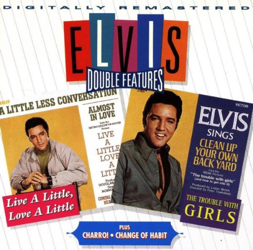 Elvis Presley A Little Less Conversation cover art