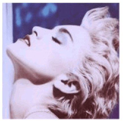 Madonna True Blue cover art