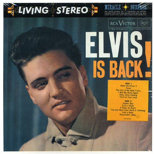Elvis Presley Stuck On You cover art
