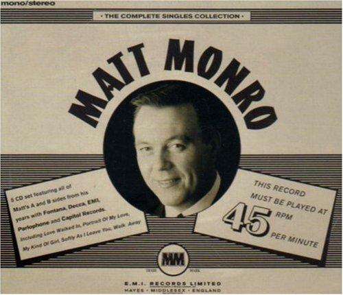 Matt Monro Precious Moments cover art