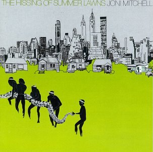 Joni Mitchell The Hissing Of Summer Lawns cover art