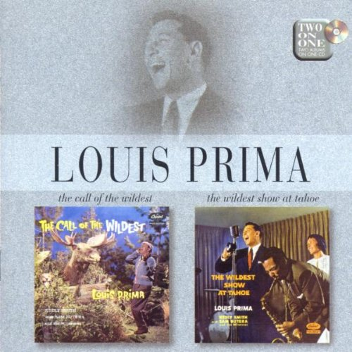 Louis Prima I've Got The World On A String cover art