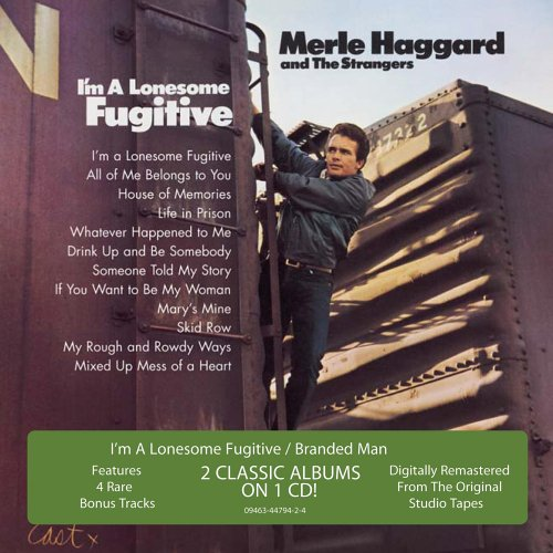 Merle Haggard Branded Man cover art