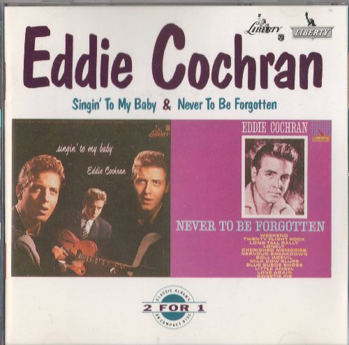 Eddie Cochran Twenty Flight Rock cover art