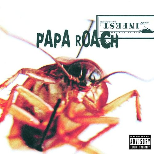 Papa Roach Between Angels And Insects cover art