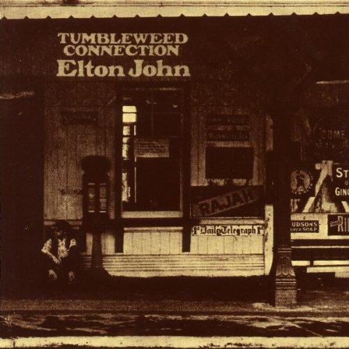 Elton John Burn Down The Mission cover art