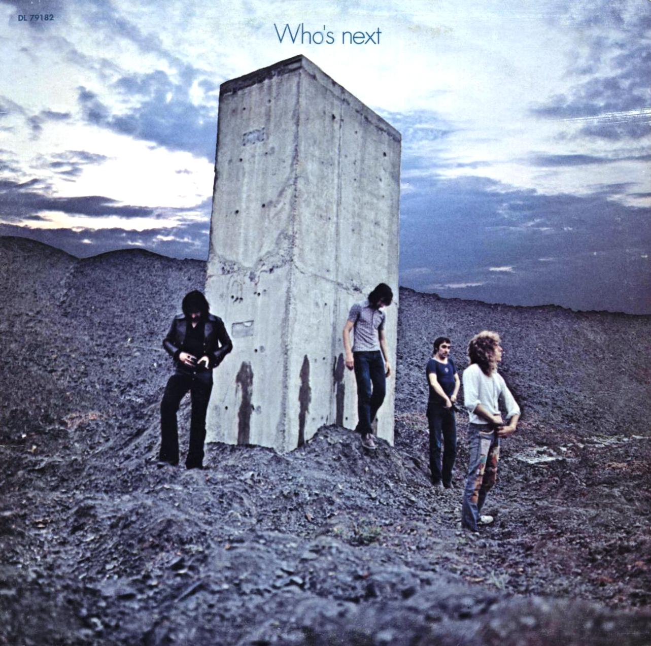 The Who Baba O'Riley cover art
