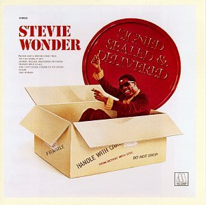 Stevie Wonder Signed, Sealed, Delivered I'm Yours cover art