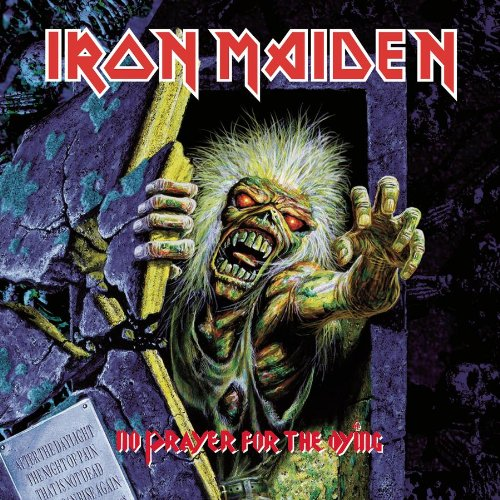 Iron Maiden No Prayer For The Dying cover art