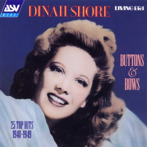 Dinah Shore The Best Things In Life Are Free cover art