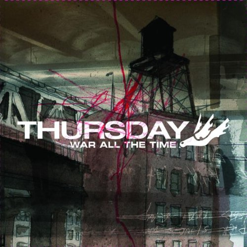 Thursday War All The Time cover art