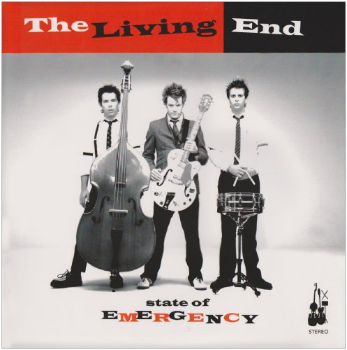 The Living End Into The Red cover art