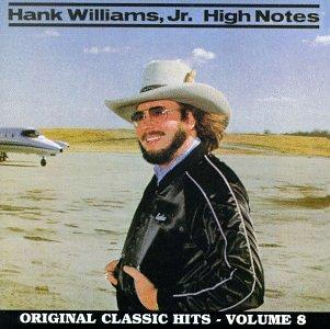 Hank Williams Jr. Honky Tonkin' cover art