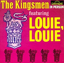 The Kingsmen Louie, Louie cover art
