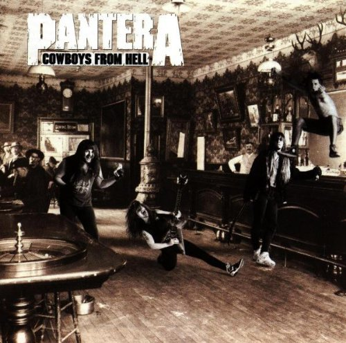 Pantera Cowboys From Hell cover art