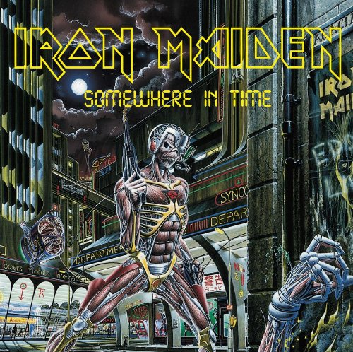 Iron Maiden Wasted Years cover art
