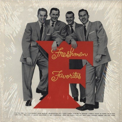 The Four Freshmen How Can I Tell Her (theme from Lucy Gallant) cover art