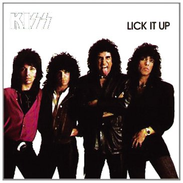KISS Lick It Up cover art