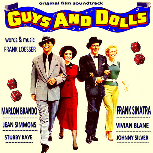 Frank Loesser Guys And Dolls cover art