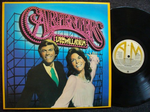 Carpenters There's A Kind Of Hush (All Over The World) cover art