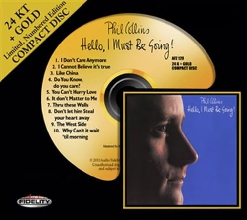Phil Collins You Can't Hurry Love cover art