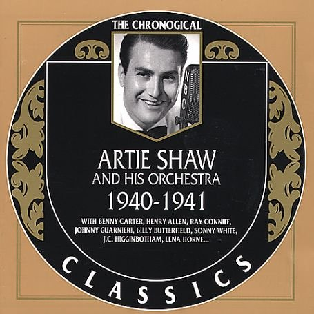 Artie Shaw & his Orchestra Dancing In The Dark cover art