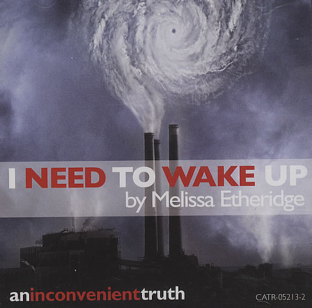 Melissa Etheridge I Need To Wake Up cover art