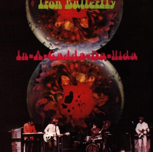 Iron Butterfly In-A-Gadda-Da-Vida cover art