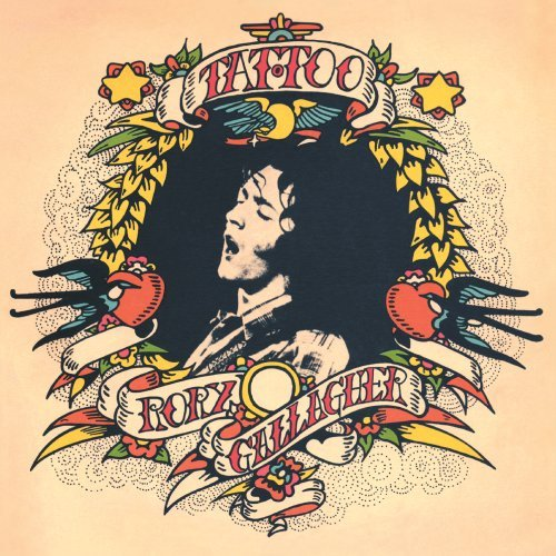 Rory Gallagher A Million Miles Away cover art