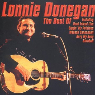 Lonnie Donegan Rock Island Line cover art