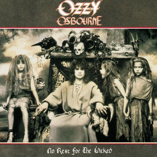 Ozzy Osbourne Miracle Man cover art