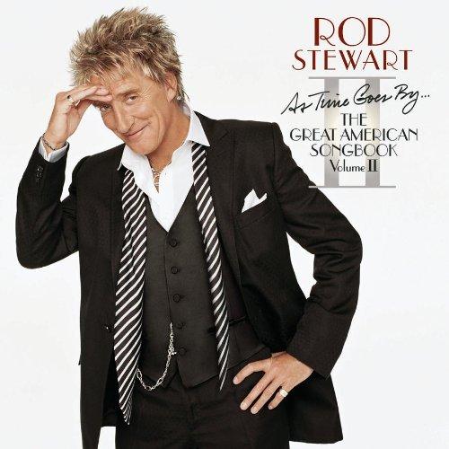 Rod Stewart Don't Get Around Much Anymore cover art