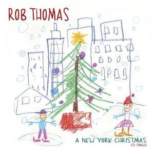 Rob Thomas A New York Christmas cover art
